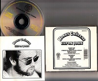 Elton John - Honky Chateau CD DJM FULL SILVER EARLY West Germany Pressing