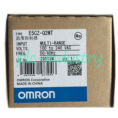 New in box Omron 1pcs Temperature Controller E5CZ-Q2MT E5CZQ2MT 100-240VAC