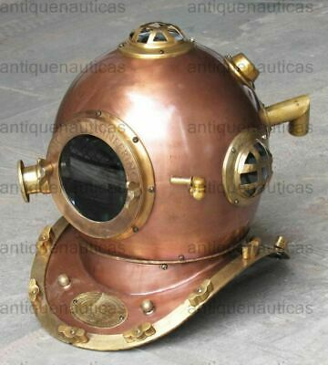 Anchor Engineering Diving Helmet Antique Diving Marine Deep Sea Divers Helmet
