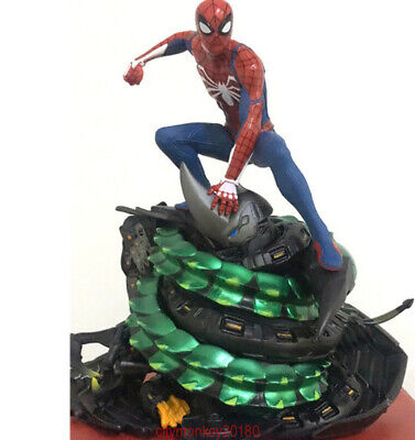 Marvel Spider-Man PS4 Collectors Edition STATUE Figure Limit STOCK Boxed New