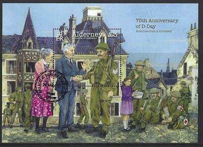 Alderney 2019 75Th Anniversary Of D-Day Miniature Sheet  Fine Used