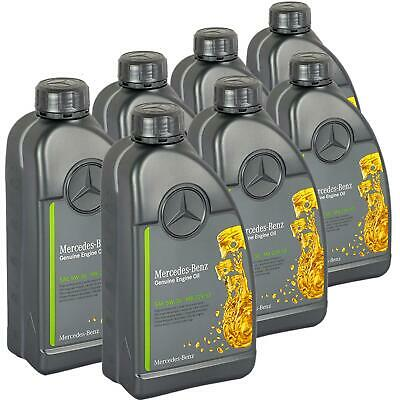 [8,27€/L] 7L ORIGINAL OE 5W30 MERCEDES SYNTHETIC MOTORÖL 7x 1Liter ÖL 229.52