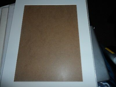 Mounts 12 X 10 Mainly White 8 Complete With Hardboard Back Boards Goodfor Frames