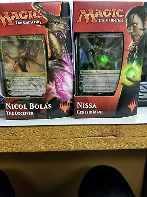 Magic MTG HOUR OF DEVASTATION PLANESWALKER DECKS - BOTH DECKS SET OF 2