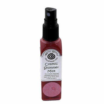 Cosmic Shimmer Mica Mister 50ml Spray Scarlet Mist