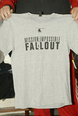 Mission Impossible Fallout T Shirt Mint Large Tom Cruise Movie Tv Show