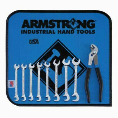 Armstrong® 27-942 Miniature Length Open End Ignition Wrench Set, Standard, Inch