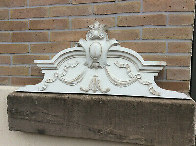 decorative antique victorian shabby chic ornate french country pediment