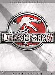 Jurassic Park III (DVD, 2001, Widescreen Collectors Edition) DISC IS MINT