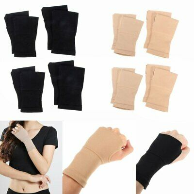Wrist Thumb Compression Support Hand Palm Brace Carpal Tunnel Arthritis Gloves