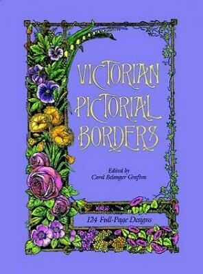 Victorian Pictorial Borders (Dover Pictorial Archive) (Dover Pictor... Paperback
