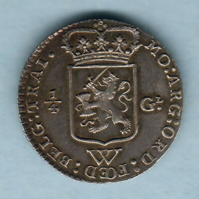 Netherlands West Indies. 1794 1/4 Gulden..  Much Lustre - gEF