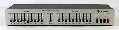Monacor GE-206 Stereo Graphic Equalizer