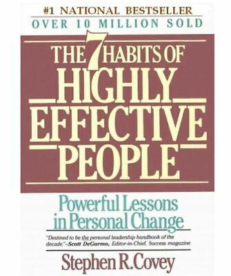 The 7 Habits of Highly Effective People by Stephen R. Covey PDF e-Book+10 Bonus
