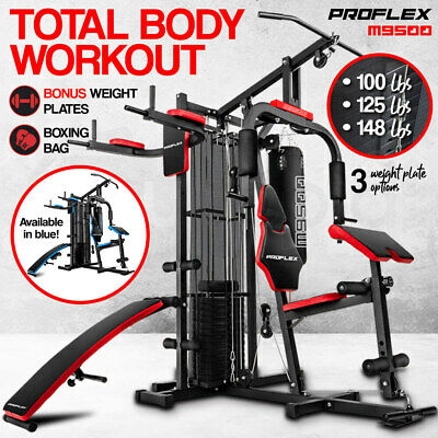 【20%OFF】PROFLEX Home Gym Exercise Equipment Weight Machine Universal Fitness