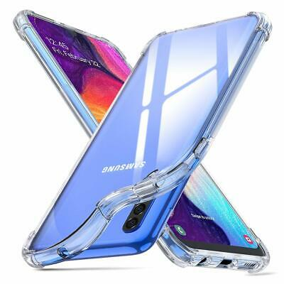 Samsung Galaxy A50 A20 A30 Case, Soft Crystal Clear Shockproof Transparent Cover