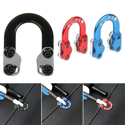 For Compound Bow Alloy D-Loop Release Bow String Nock D-Ring U Shape Loop String
