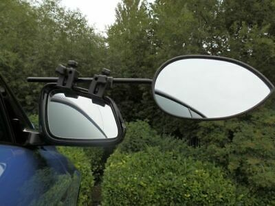 Milenco Aero 3, Flat Glass Caravan Towing Mirror, Strap Free - Single Flat 1588