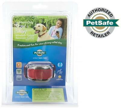 PetSafe Stubborn Dog Stay & Play Wireless Fence Receiver Collar **MAKE OFFER**