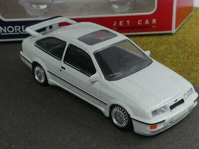 gamme Jet car 1986 1//43 Norev Ford Sierra RS Cosworth blanc