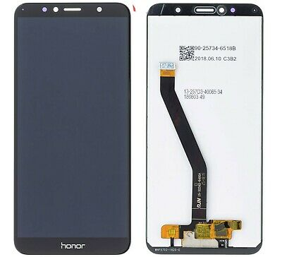Display lcd touch screen vetro ricambio schermo per Huawei Honor 7A nero Y6 2018