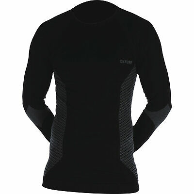 Oxford Compression Knitted Base Layers Top Long Sleeve Motorcycle Thermal Shirt