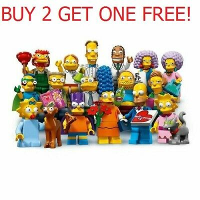 LEGO Minifigures Series 2 SIMPSONS 71009 Choose Your Own Buy 2 get 1 free!