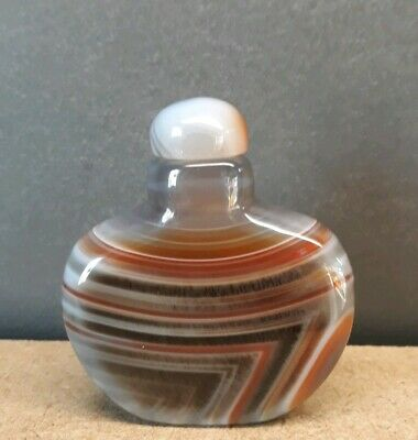 Achate snuff bottle (h