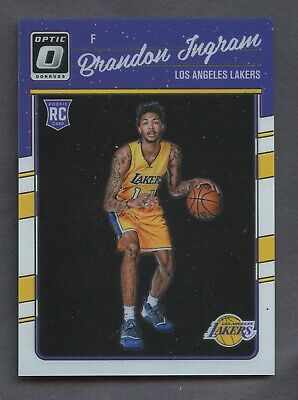 08ab91caa7c 2016-17 Donruss Optic Preview Brandon Ingram Los Angeles Lakers RC Rookie