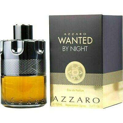 Azzaro Wanted by Night cologne perfume for men 3.4 oz 100 ml EDP spray