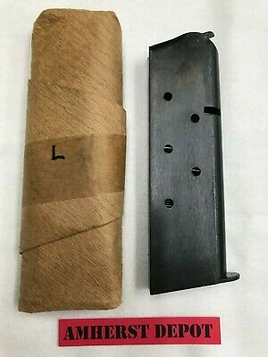 "1911 Magazine 45 Original WWII 7 Rd Marked ""R"" Risdon 1911A1 M1911 M1911A1"