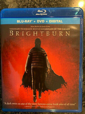 Brightburn 2019 BLU-RAY ONLY+Case&Art No DVD/Digital SAVE$$$ Combine Ship