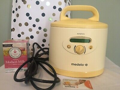 MEDELA SYMPHONY 2.0 DOUBLE BREAST PUMP HOSPITAL GRADE POWER ON  T8-WH