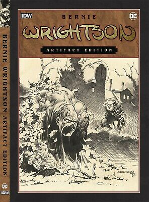 Bernie Wrightson Artifact Extra Large Hardcover Edition In Box Swamp Thing