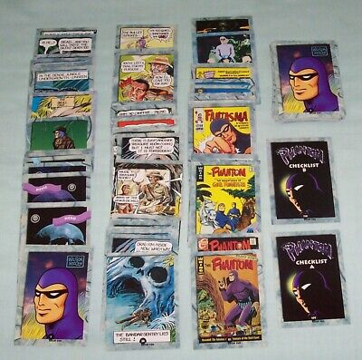 The Phantom Trading Cards. Mixed Broken Set. Dynamic Marketing King Features