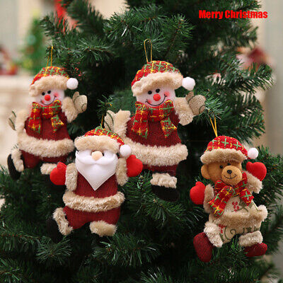 decoration Home Hanging Ornaments Merry christmas doll Pendant Santa Clause