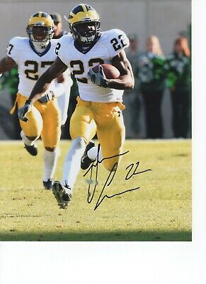 JAMAR ADAMS MICHIGAN Wolverines Jsa/holo Signed 8X10 Photo