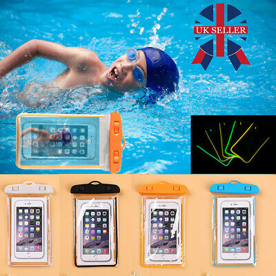 Universal Waterproof Underwater Phone Case Dry Bag Pouch For All Smartphones D