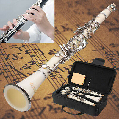 LADE Retro Clarinet Musical Instrument Orchestra Beginners Student With Case  UK