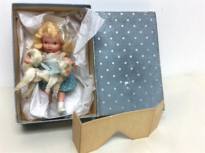 """Vintage 1938 Nancy Ann 5.5"""" Bisque Storybook Doll - Pussy Cat, Pussy Cat #126"""