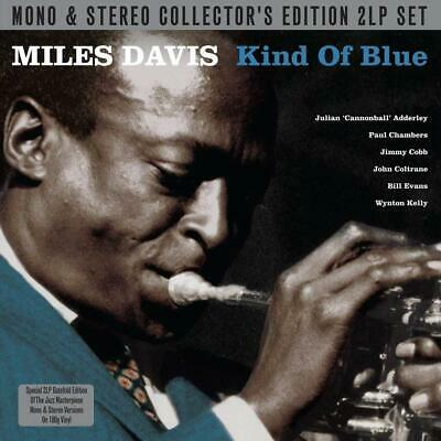 Miles Davis A Kind Of Blue Mono and Stereo Edition 2 LP Vinyl Record 180G