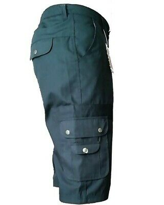 Mens Bizz Casual Cargo Short With Elasticated Waist Band For Extra Comfort
