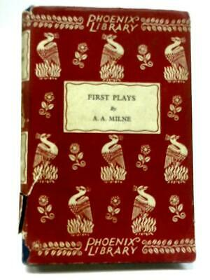 First Plays (A.A. Milne - 1929) (ID:26501)