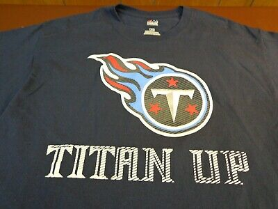 Majestic TENNESSEE TITANS UP  2016 Schedule NFL Football T-Shirt Large  K17