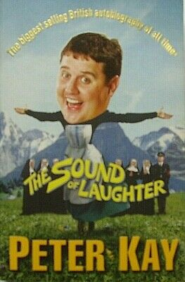 Peter kay the sound of laughter paperback book autobiography liverpool 9 area