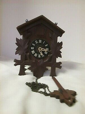 Vintage CUCKOO CLOCK made IN GERMANY for repair or parts-Great condition