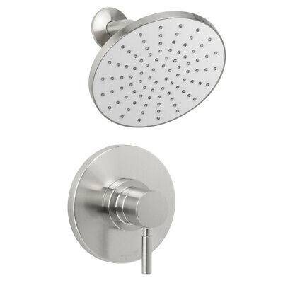Miseno MS-550425-S Nickel Mia Shower Trim Package with Single Function Rain