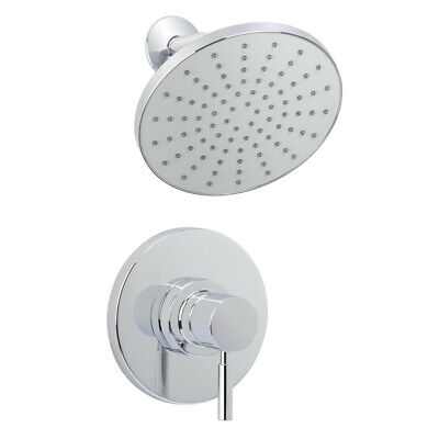 Miseno MS-550425-S Chrome Mia Shower Trim Package with Single Function Rain