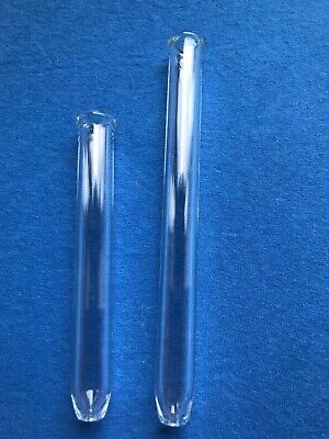 """Glass extraction tube 1/2"""" I.D. X 6""""/8"""" Lot of (2)"""
