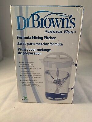 NEW Dr. Brown's Natural Flow Formula Mixing Pitcher 32 oz (White) No 925